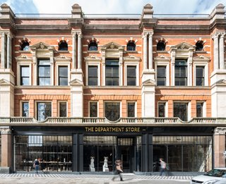 """""""The Brixton area has a welcoming and generous community spirit, along with a multitude of independent retail and food outlets on the high street,"""" Gledstone says. The Department Store's ground level is open to independent retailers."""