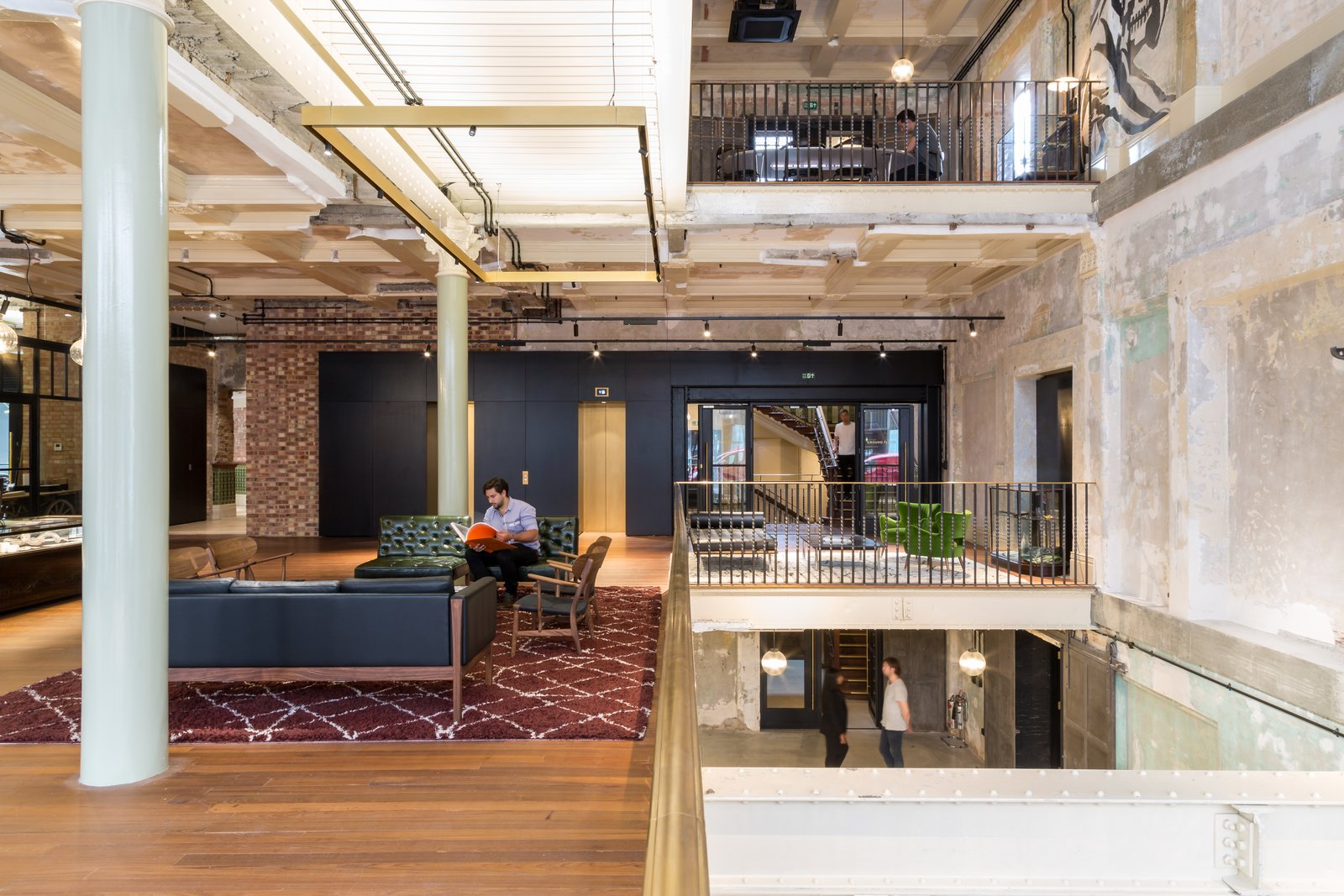 A London Department Store Is Reborn as a Creative Workspace