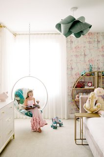 "Pressey started her career photographing people, but she still likes to include them in her interior shots.  ""Show the kids having fun in their rooms,"" she says."