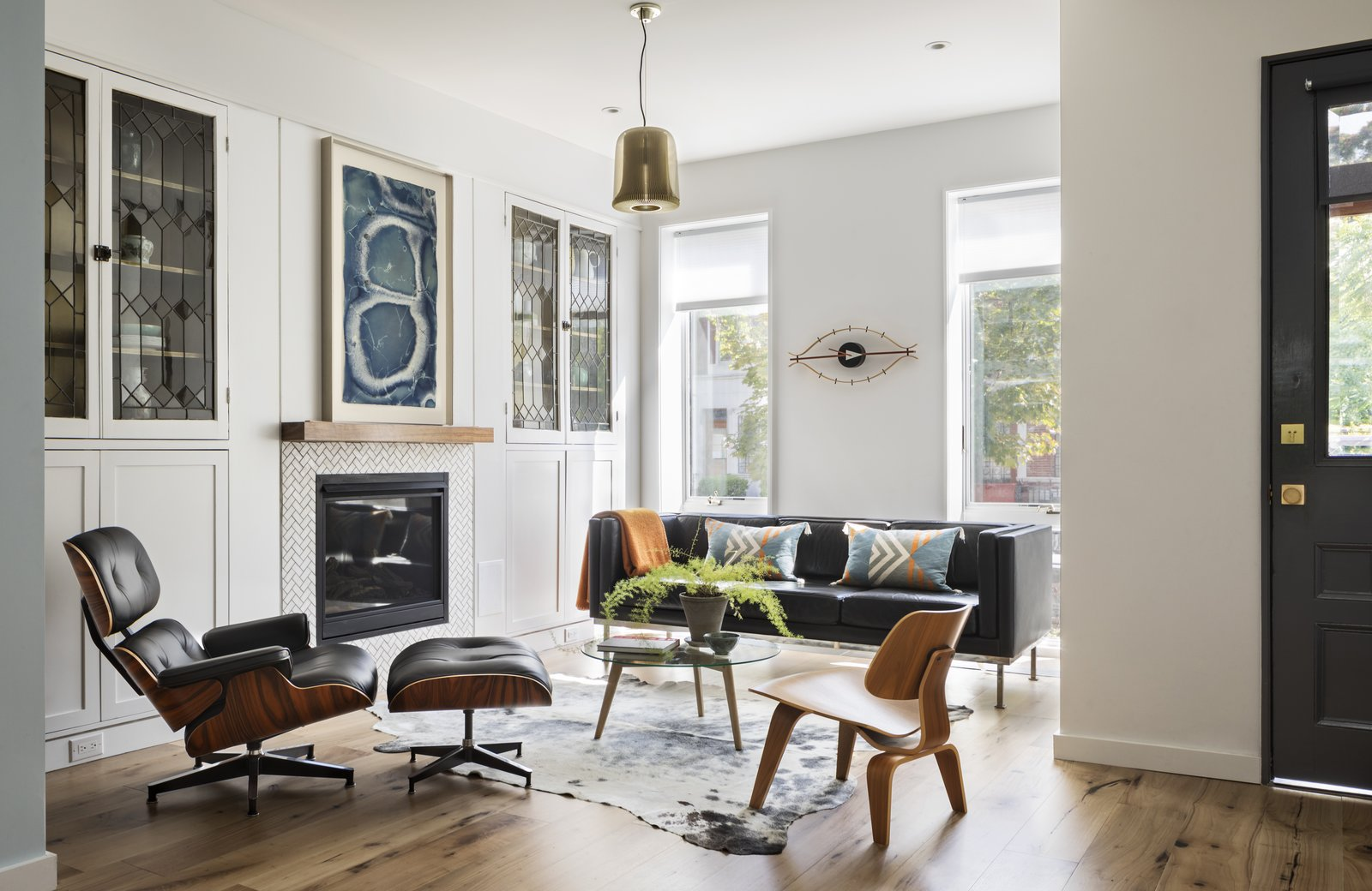 BFDO Architects Crown Heights Brownstone living area
