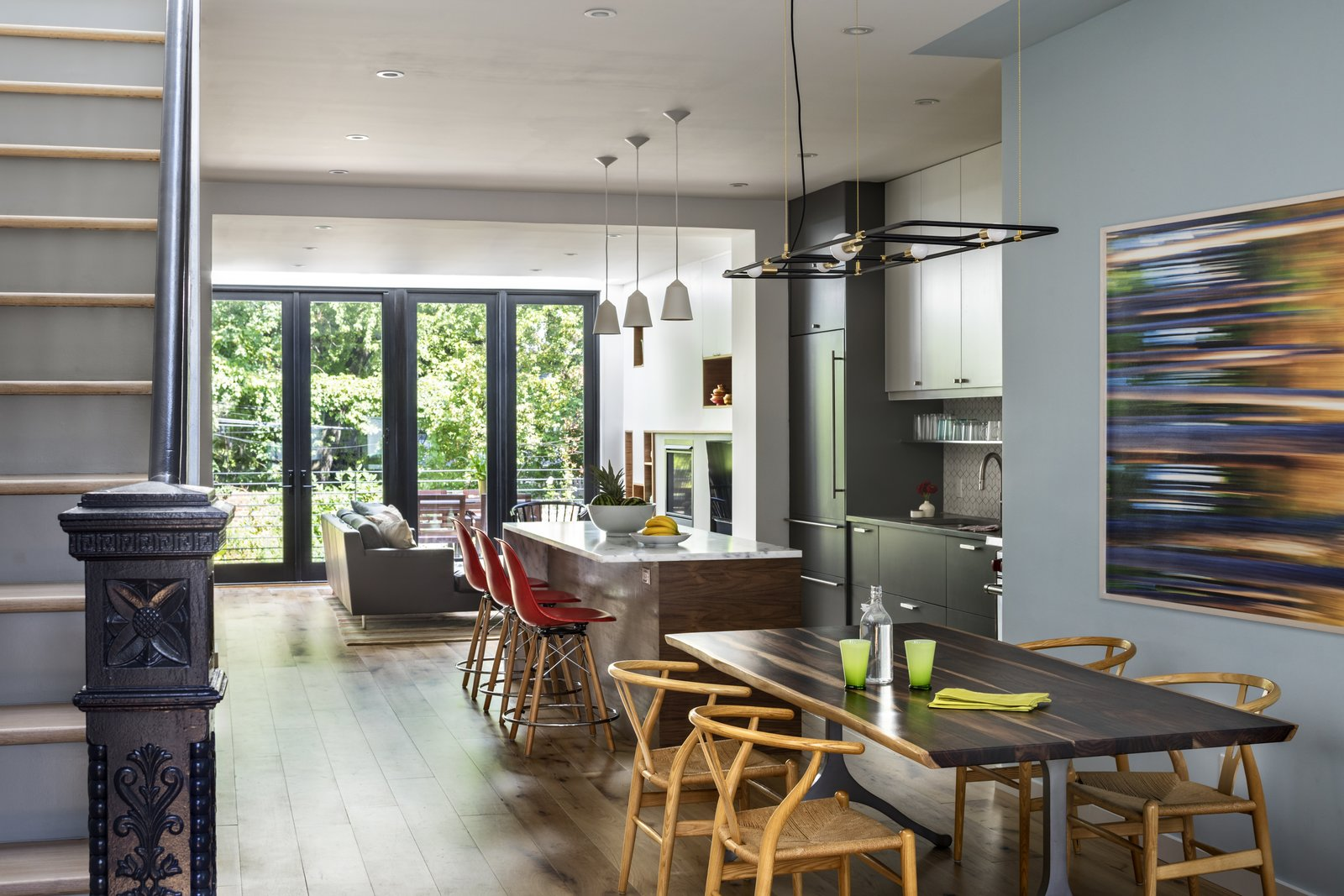 BFDO Architects Crown Heights Brownstone dining room