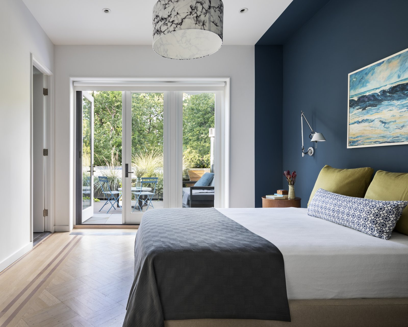BFDO Architects Crown Heights Brownstone bedroom