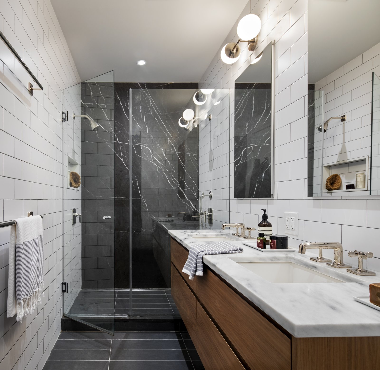 BFDO Architects Crown Heights Brownstone bathroom