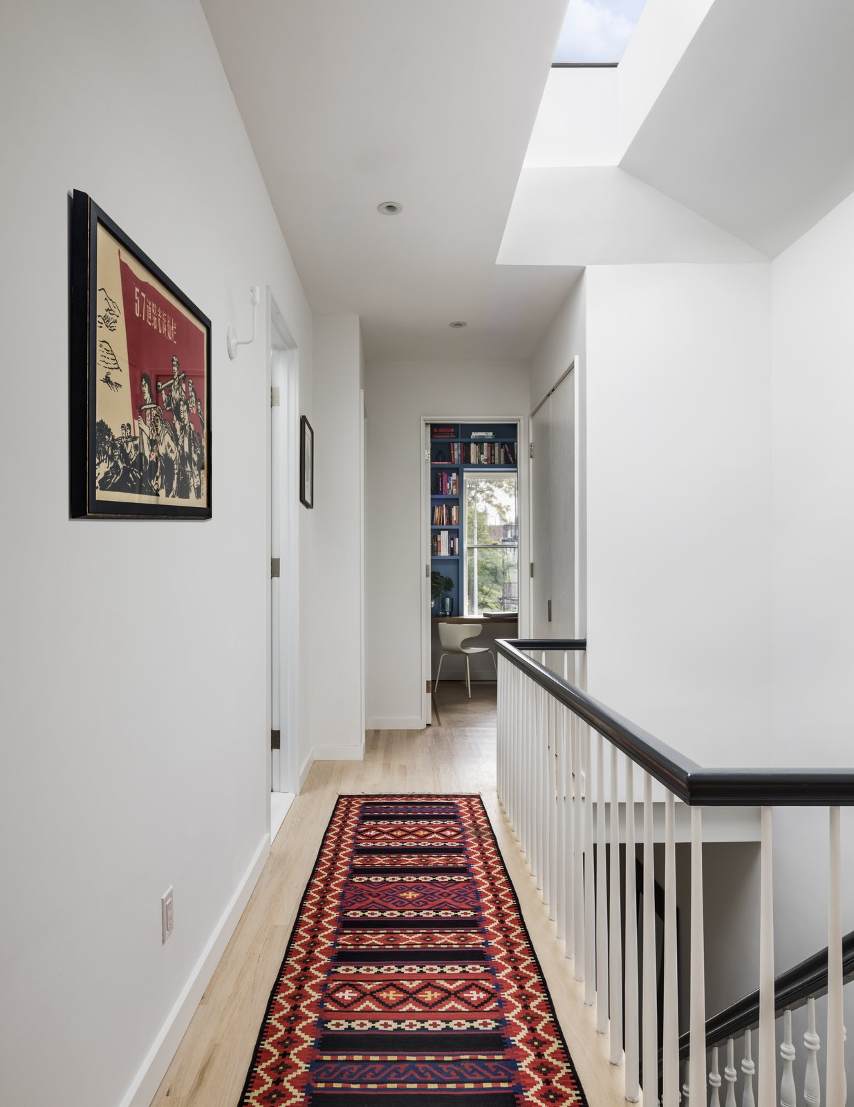 BFDO Architects Crown Heights Brownstone upstairs hallway