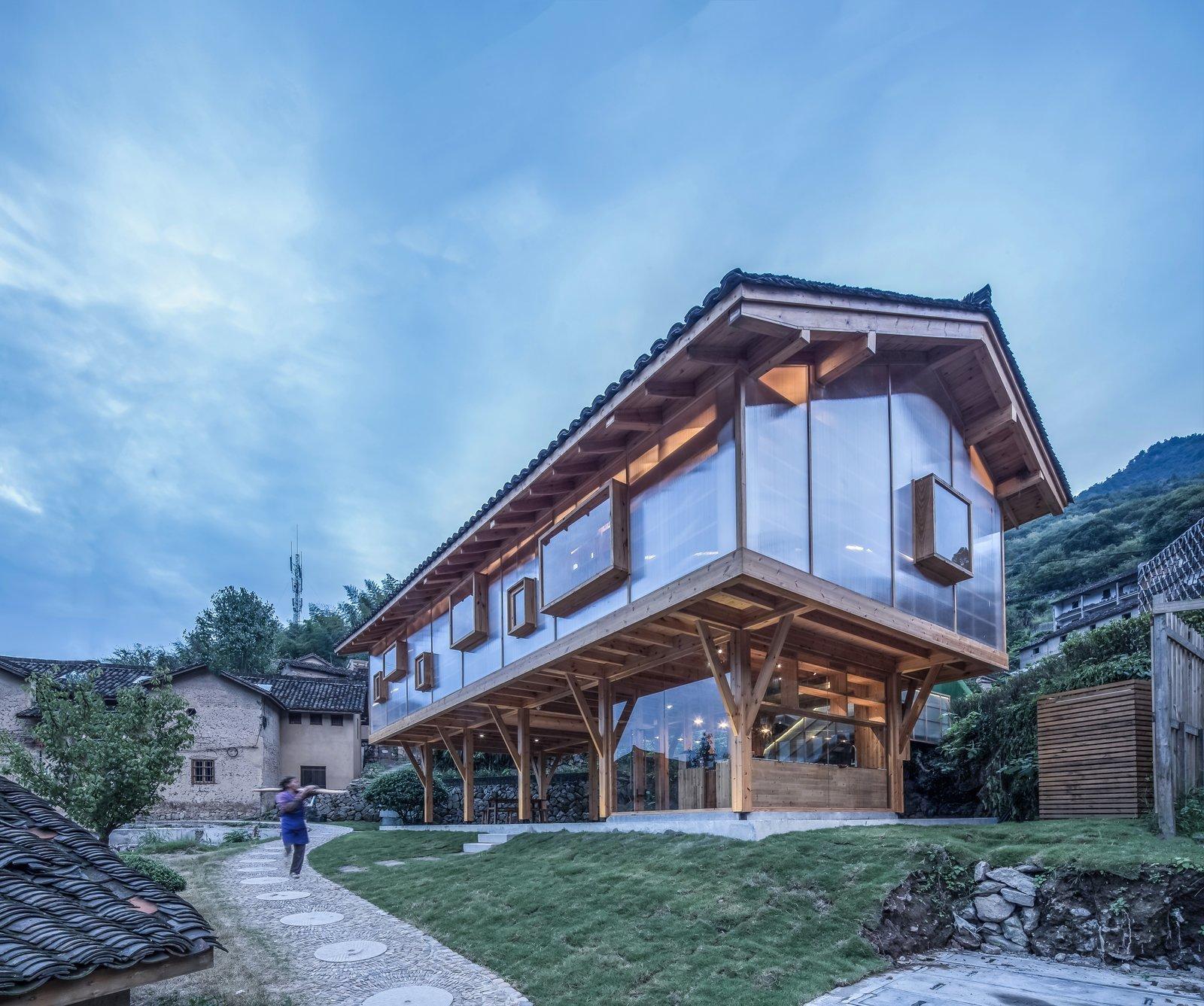Mountain House in Mist