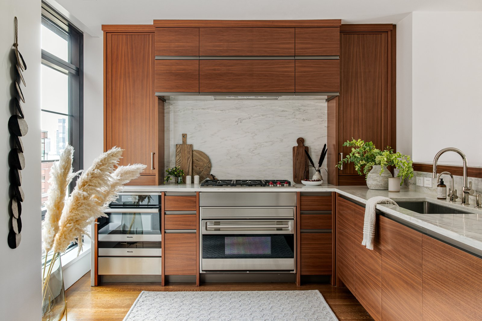 Charles Street Oasis Becky Shea Design kitchen