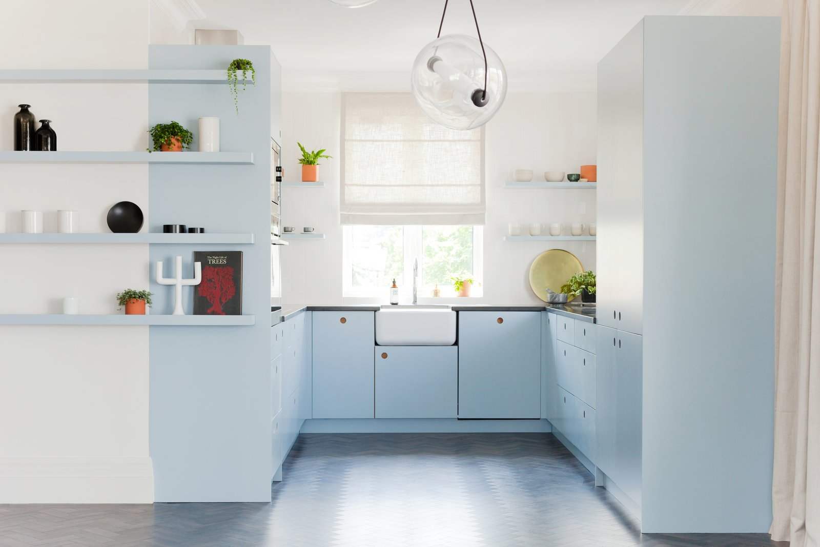 """Be brave and follow your heart when it comes to cabinetry colors,"