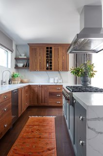 """Removing the wall afforded a larger kitchen footprint, and made the space more inviting,"" Hope-Kennedy says."