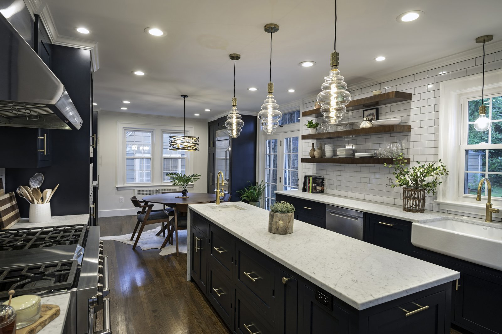 Westville Bold Classic Kitchen by Design by the Jonathans - Dwell