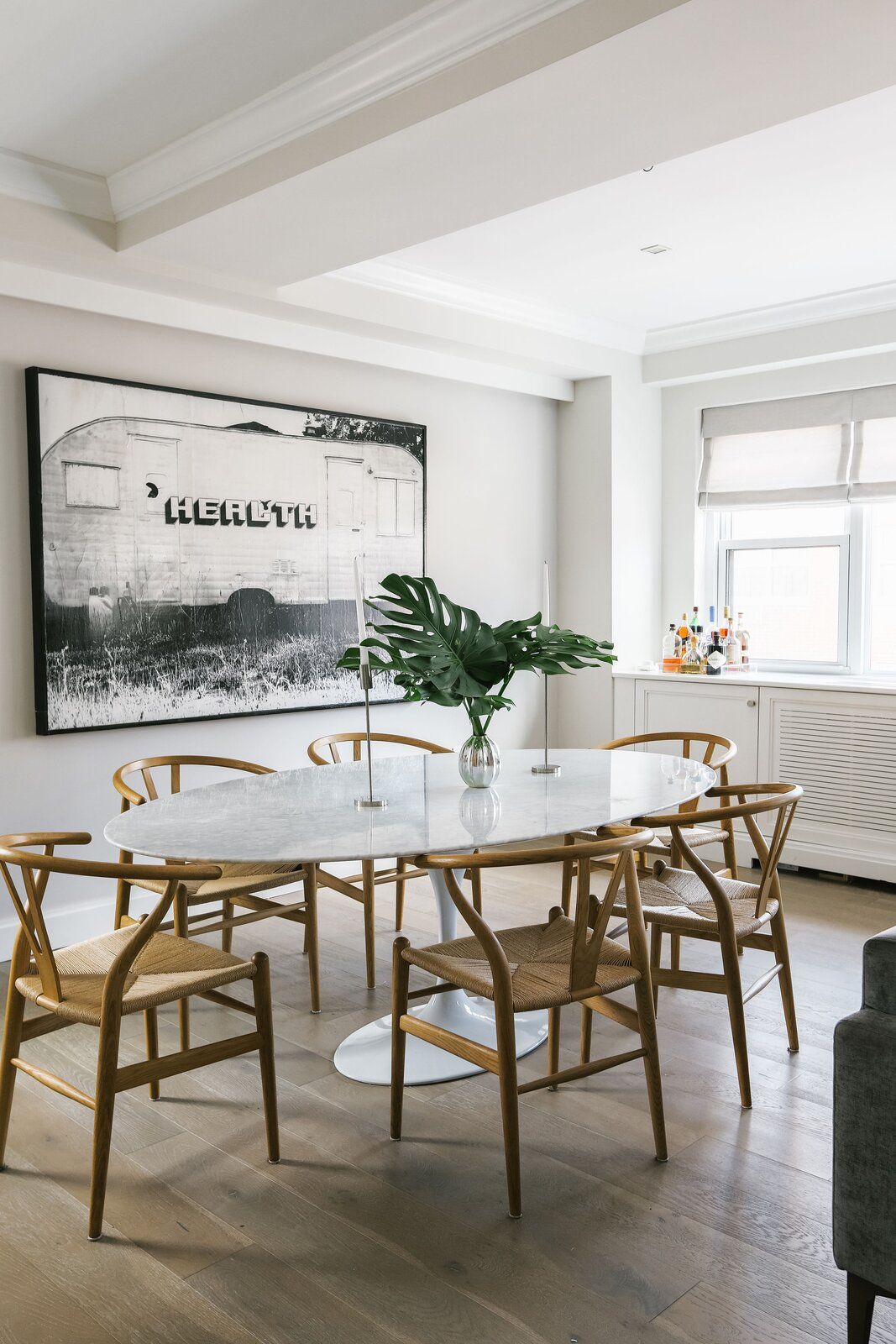 Glassman/Soloman Project by Margaret Costello dining area