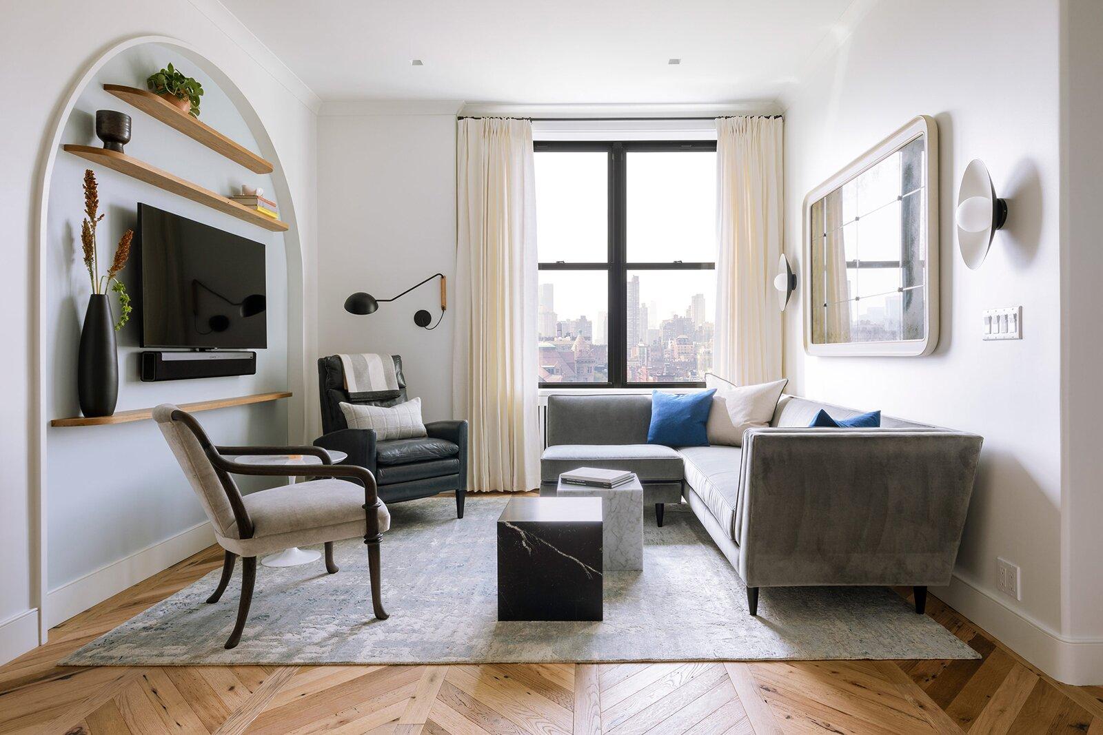 Durodeco Upper West Side Studio living room