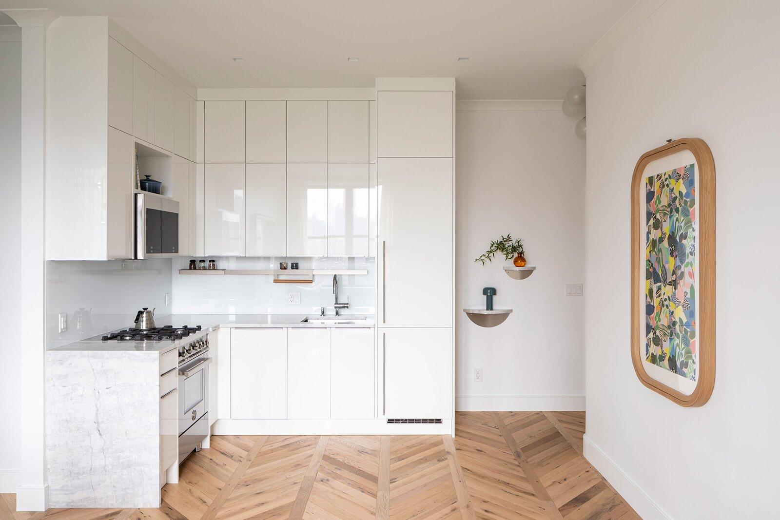 Durodeco Upper West Side Studio kitchen
