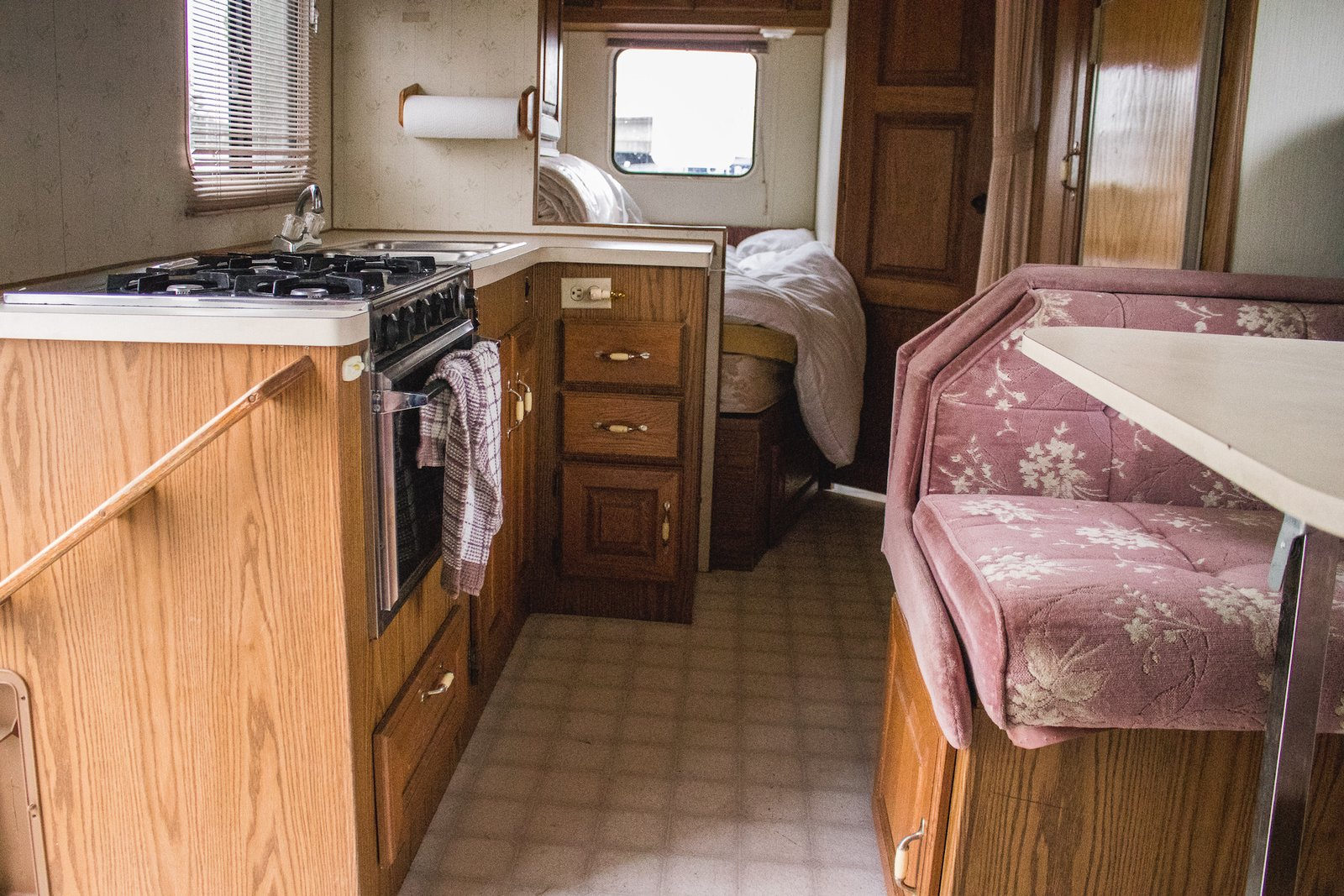 Before & After: A Dull RV Becomes a Cheerful Abode in Just 21 Days