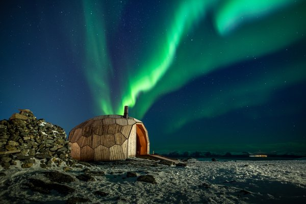 """""""We are delighted to see that our ambition to create this innovative sanctuary for adventurers has been realized,"""" says James Dodson of SPINN Architects. """"We hope that the cabin will continue to be enjoyed and will encourage more people to visit the stunning location in the future."""""""