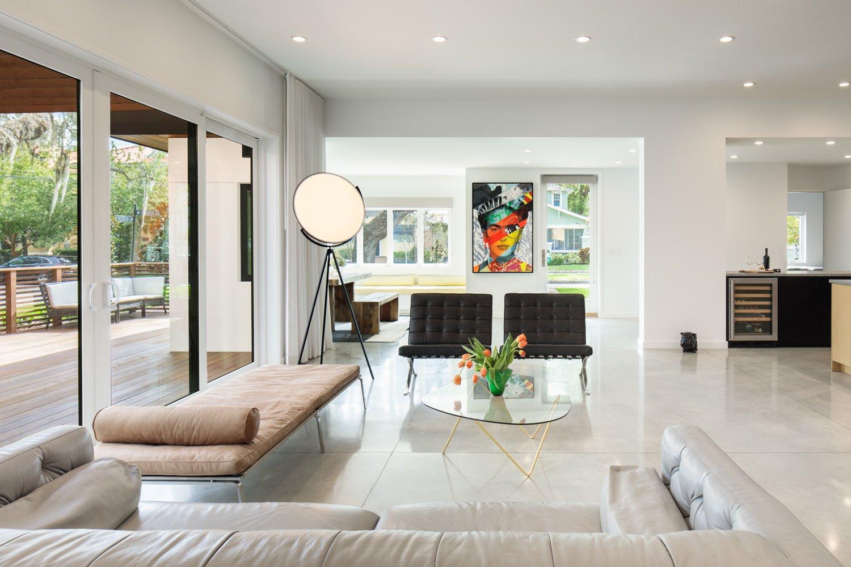 Hyde Park House living room