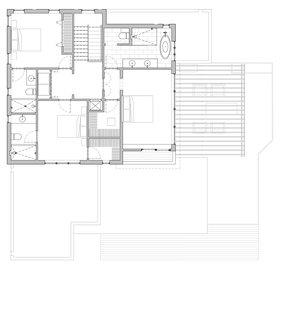 Hyde Park House floor plan: second floor