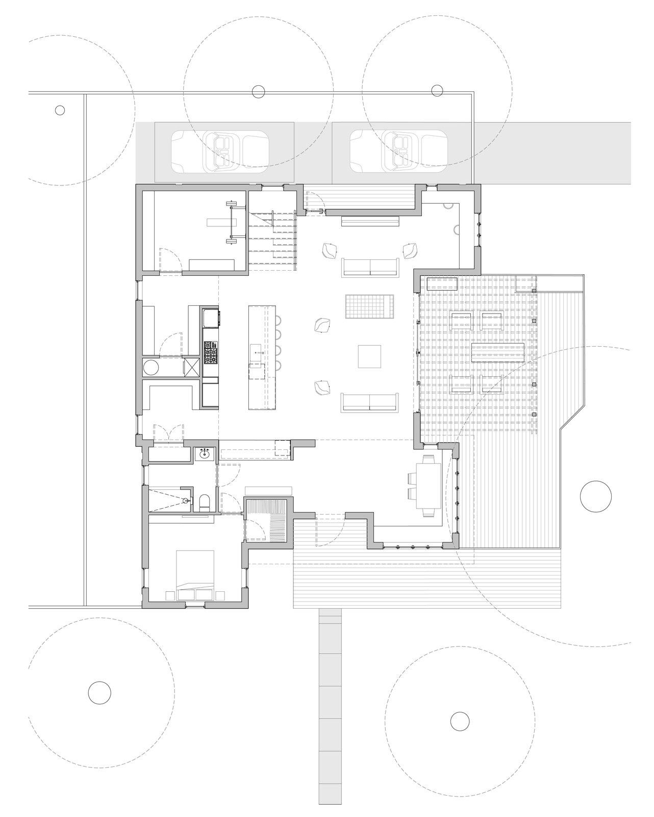 Hyde Park House floor plan: first floor