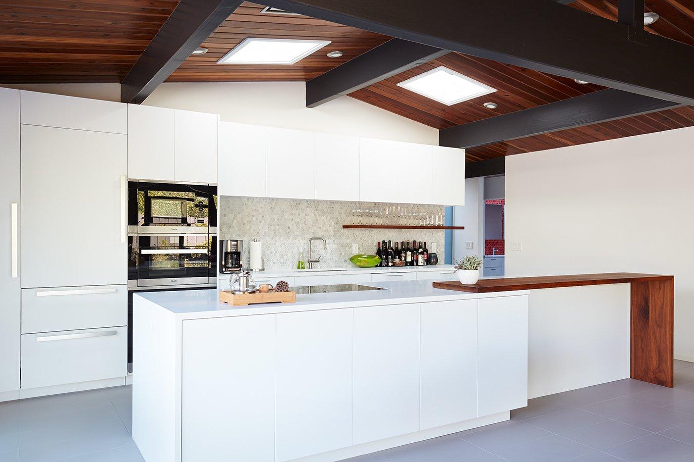 After: Palo Alto Eichler kitchen