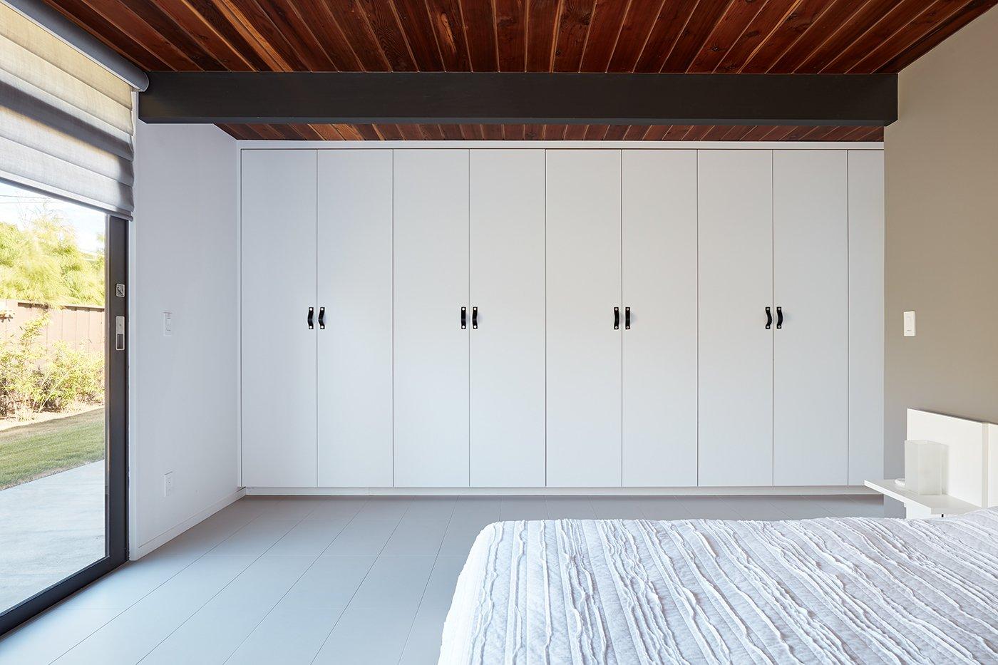 After: Palo Alto Eichler master bedroom