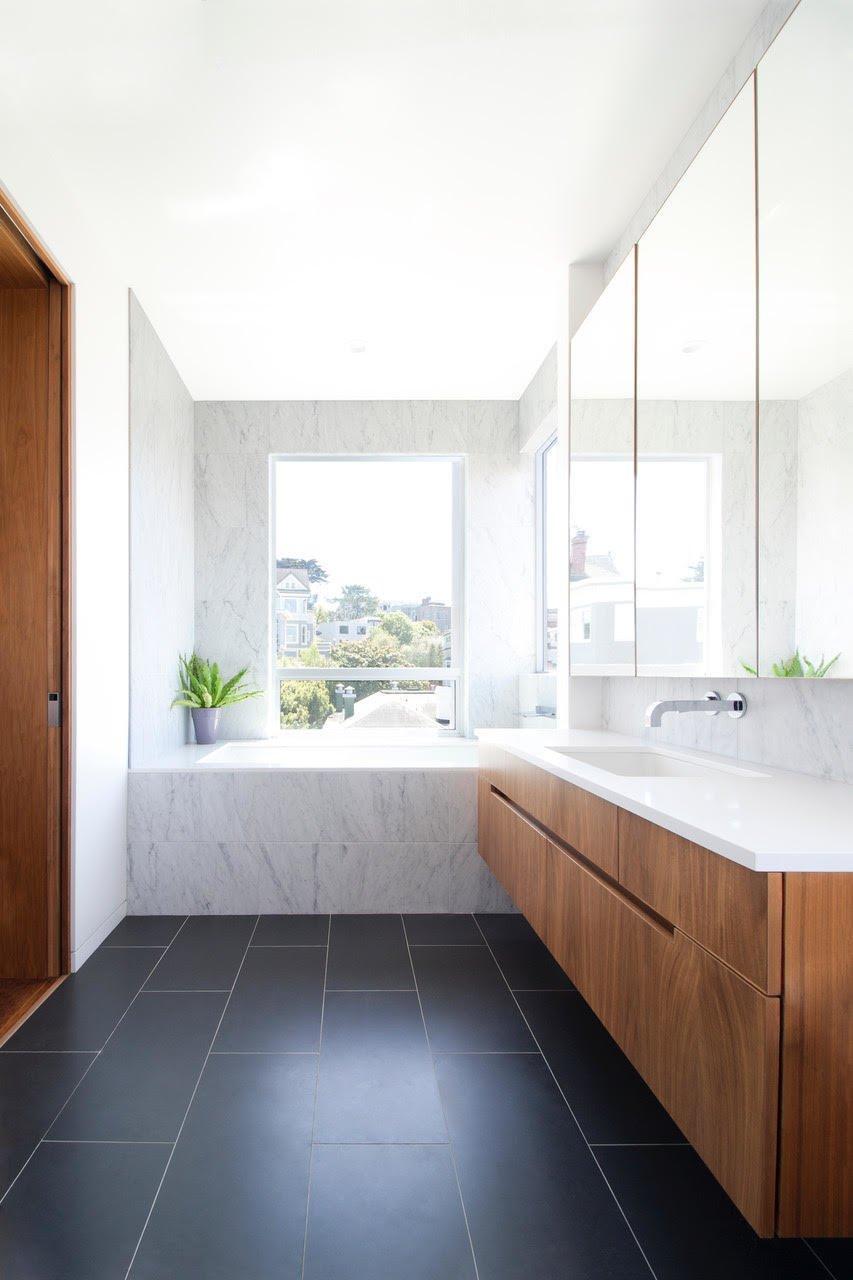 Frederick Street Renovation by atelier KS master bathroom
