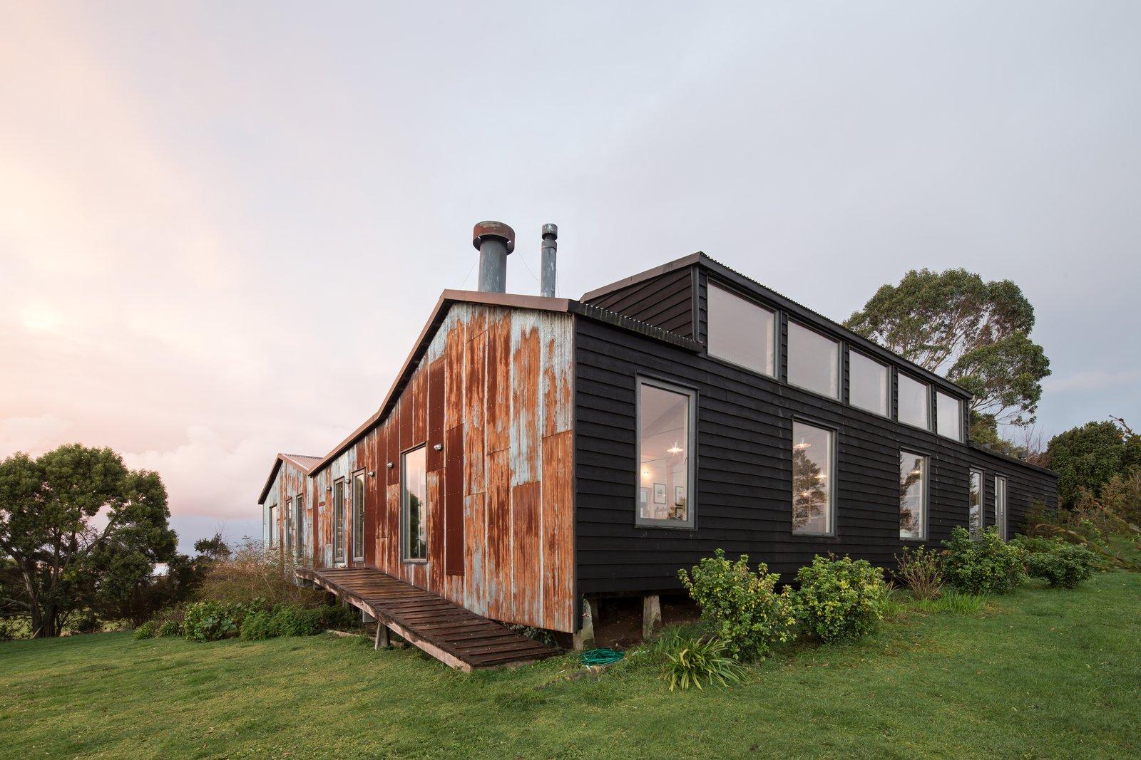 Punta Chilen House by Baltazar Sánchez Arquitecto exterior