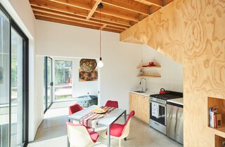 A Creative Couple's Backyard ADU Makes Room for a Gallery and Art Studio
