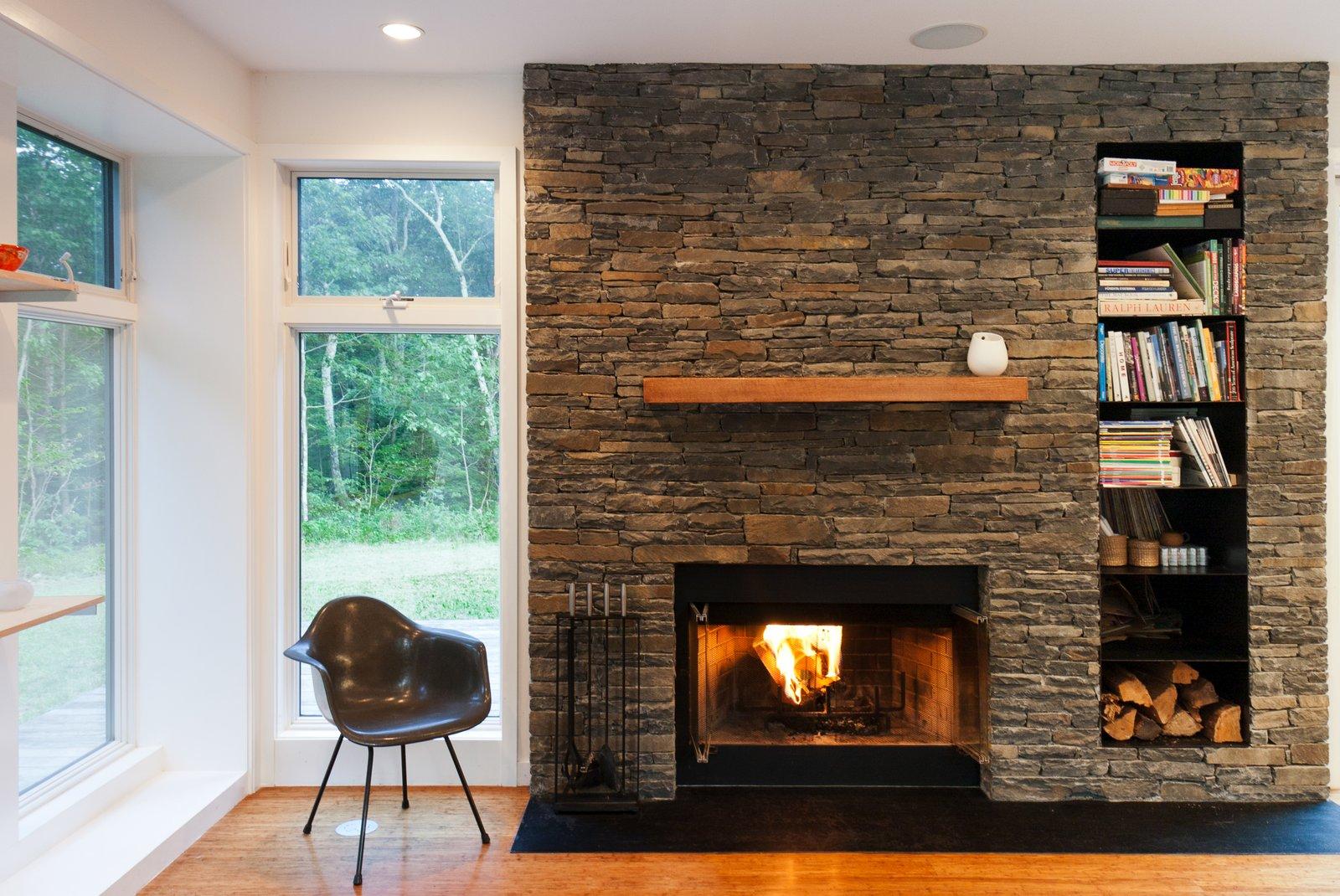 Fireplace  Catskills Suburban by Resolution: 4 Architecture