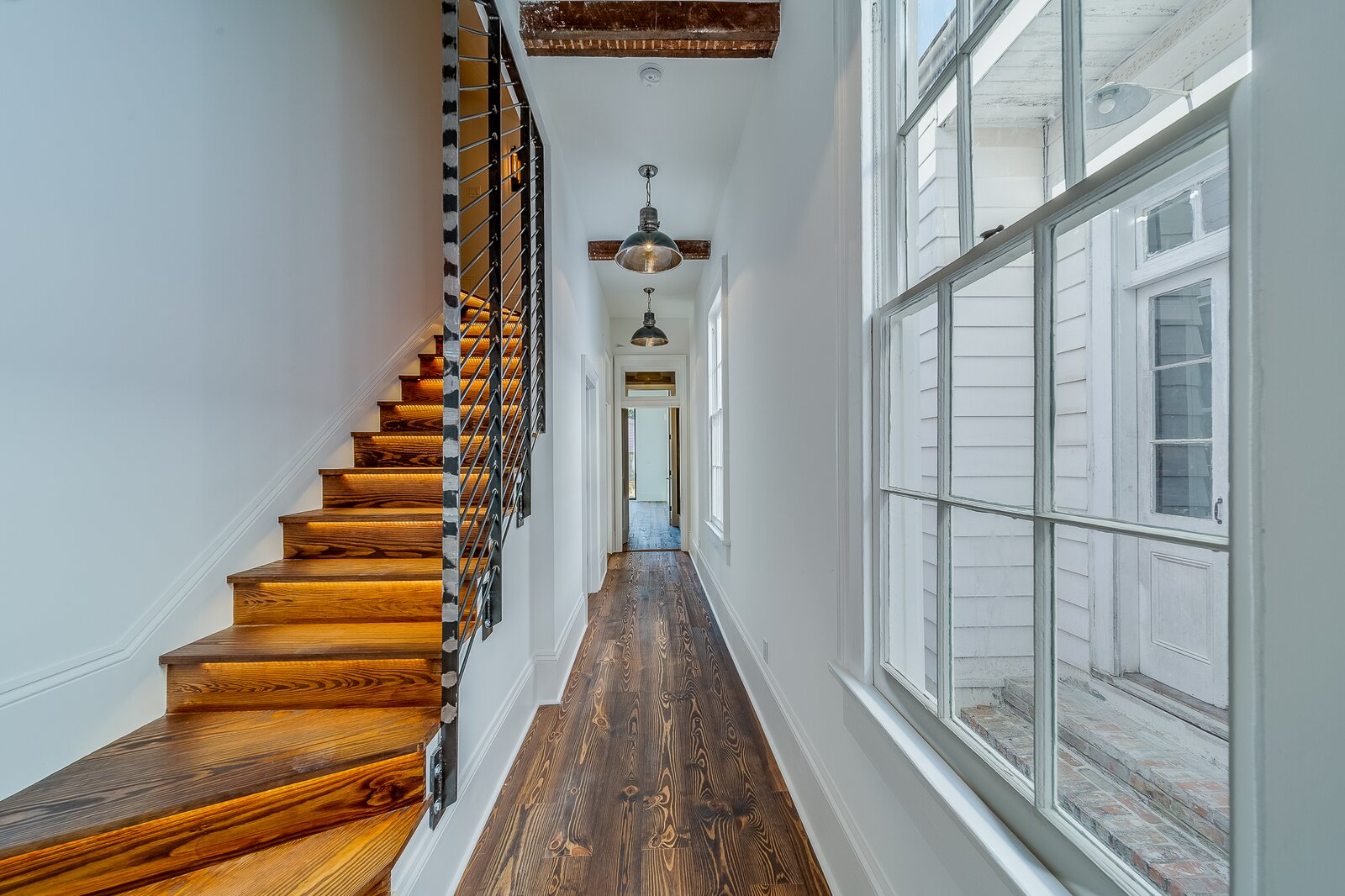 Alley & Castro Residence staircase