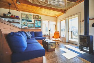 Budget Breakdown: An Oregon Retreat Revamped for $135K Channels Nautical Wes Anderson Vibes