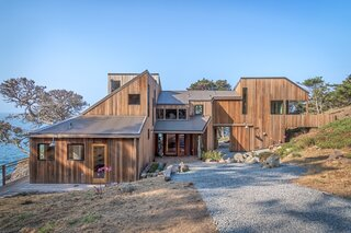 Sea Ranch Master Planner Lawrence Halprin's Cliff-Hugging Residence Lists for $8M
