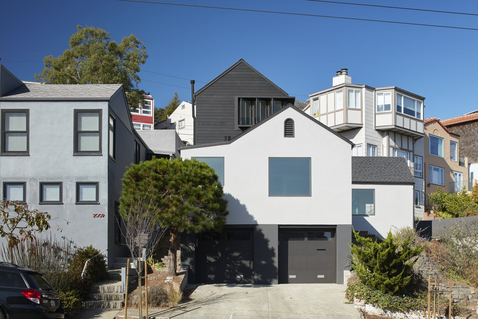 Front Elevation 2  A-to-Z House by Spiegel Aihara Workshop