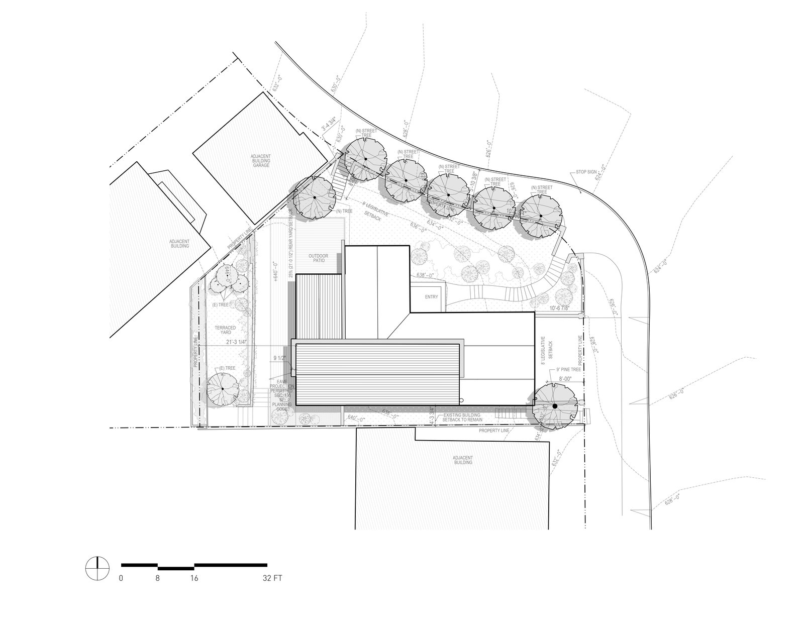 Site Plan  A-to-Z House by Spiegel Aihara Workshop