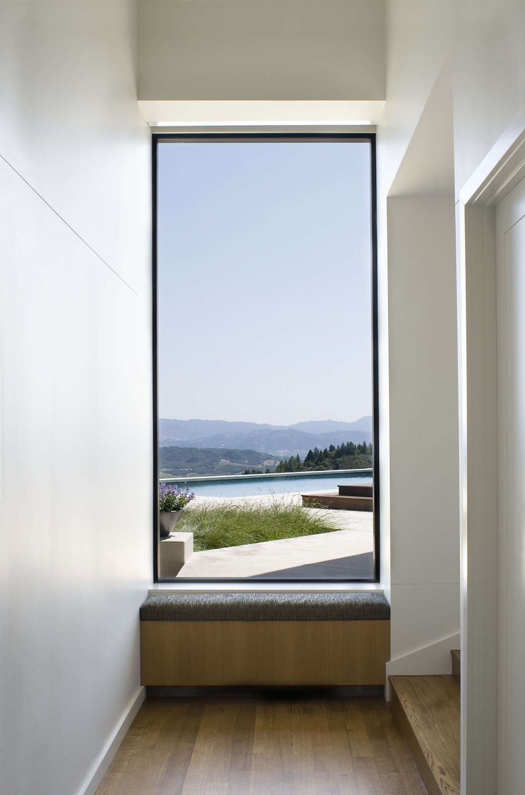Windows, Metal, and Picture Window Type Ridge House  Ridge House by Cary Bernstein Architect
