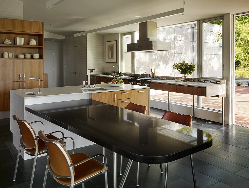 Photo 29 Of 62 In 60 Kitchen Island Ideas That Serve Up Style And Functionality From Shou Sugi Ban House Dwell