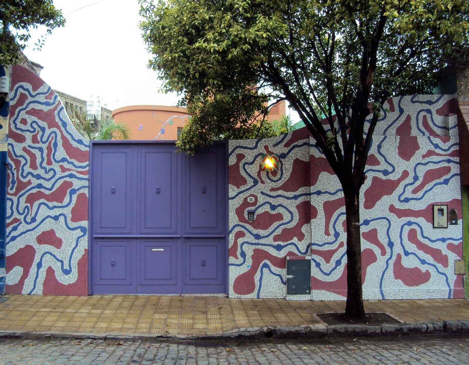 Exterior Barracas has been recognized as Buenos Aires District of Design due to its concentration of creatives.  color from Discover One of the Most Colorful Streets in Buenos Aires