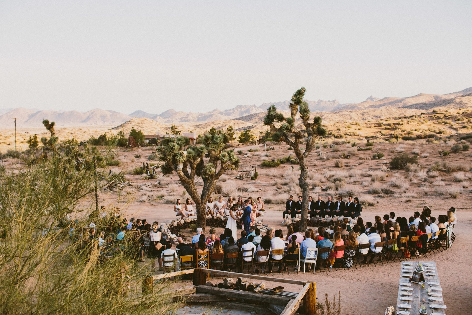Outdoor, Flowers, Shrubs, and Desert Rimrock Ranch, Pioneertown, California  Photo 7 of 10 in 10 Modern Wedding Venues That Will Make Your Big Day Unforgettable from Wedding Round-Up