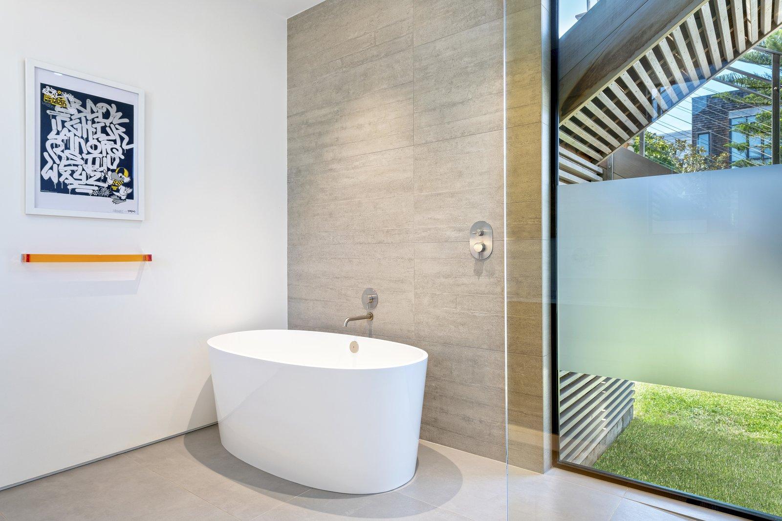 Bath Room and Freestanding Tub Main Bath  Precita Park Residence by Studio Sarah Willmer, Architecture