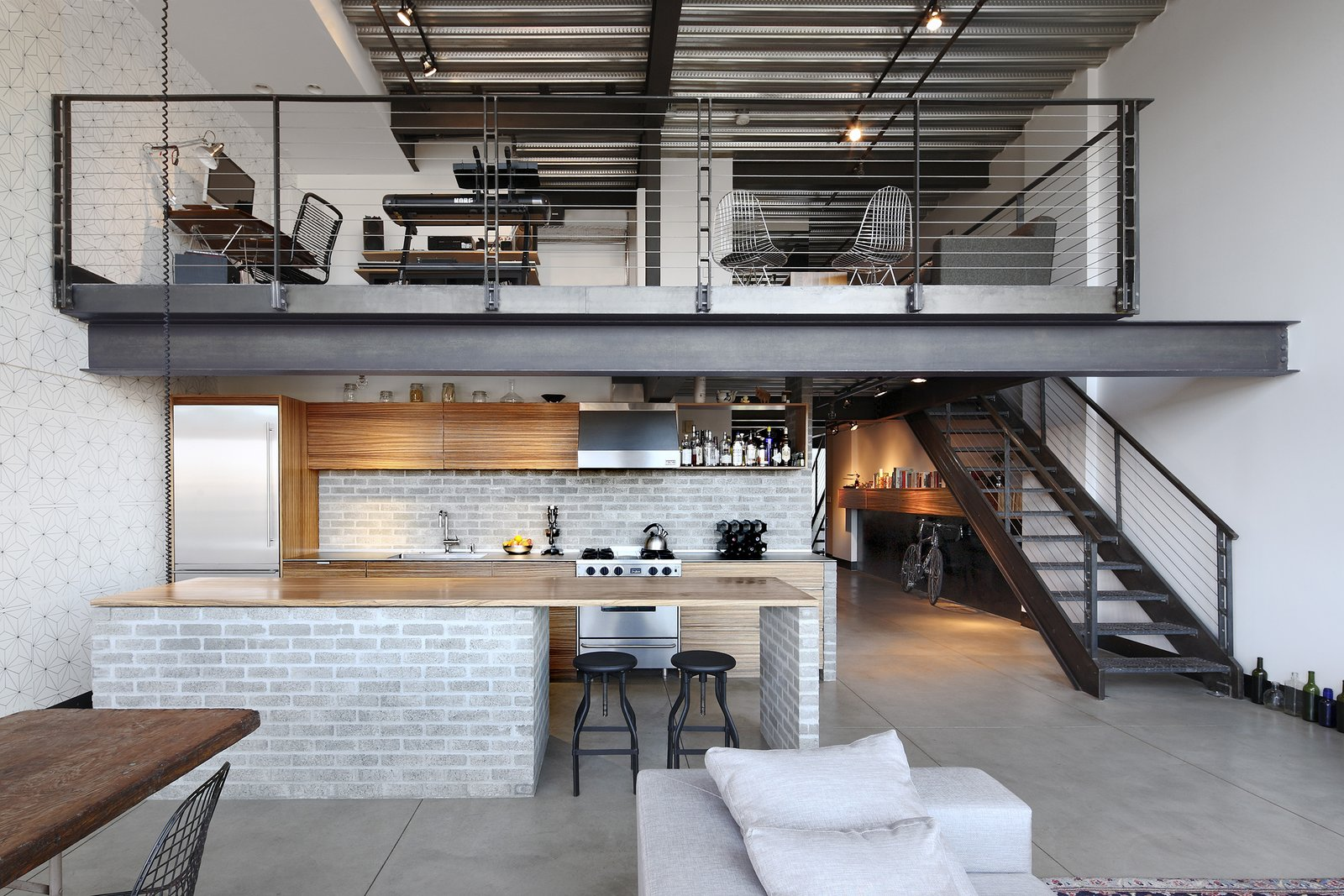 Capitol Hill Loft  SHED Architecture & Design kitchen