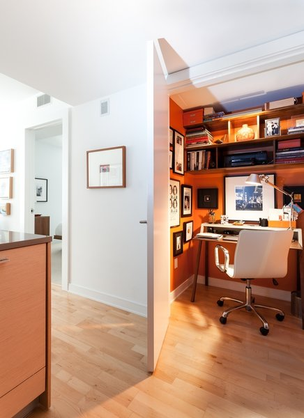 Chair, Alcove, End Tables, Coffee Tables, Sofa, Marble, Open, Stone Tile, Table, Office, Two Piece, and Medium Hardwood Office  Best Office Medium Hardwood Open Photos from Tower Condo