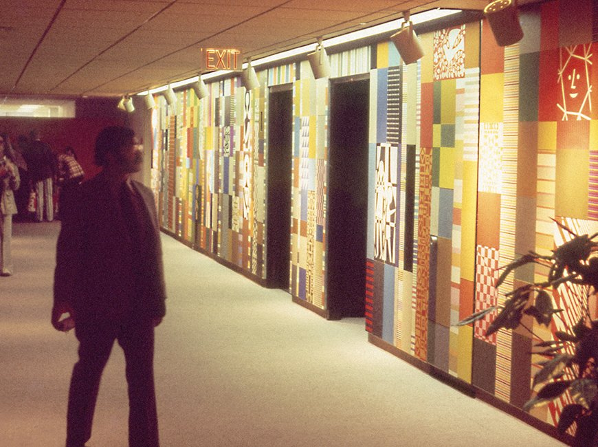 Girard Mural, Herman Miller Showroom, 1973-1974  Photo 11 of 16 in Live from New York