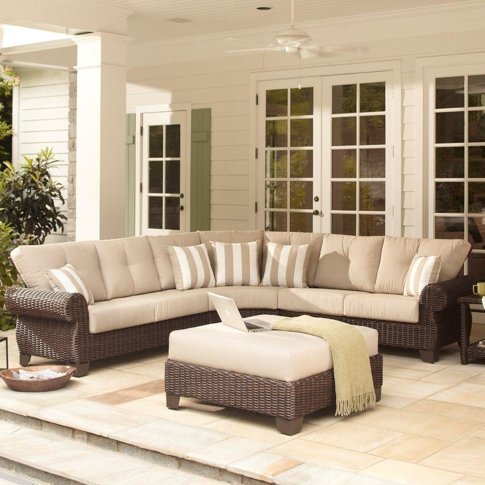 #homedepot #outdoorliving #patio #furniture #millvalley #parchmentcushions  Outdoor Living