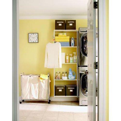 #storage #organization #laundry #homedepot #closet  #marthastewartliving  Storage