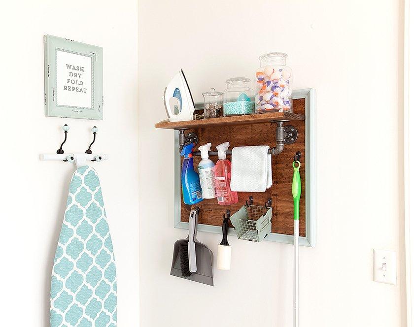 #DIY #homedepot #utilities #storage #organization  Do It Yourself
