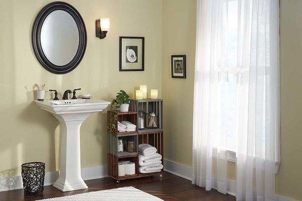#DIY #homedepot #bathroom  #storage #clean