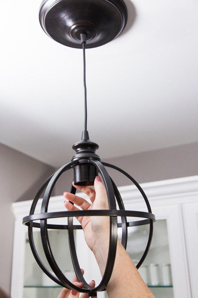 #DIY #homedepot #pendant #lighting #easy #home #improvement  Do It Yourself
