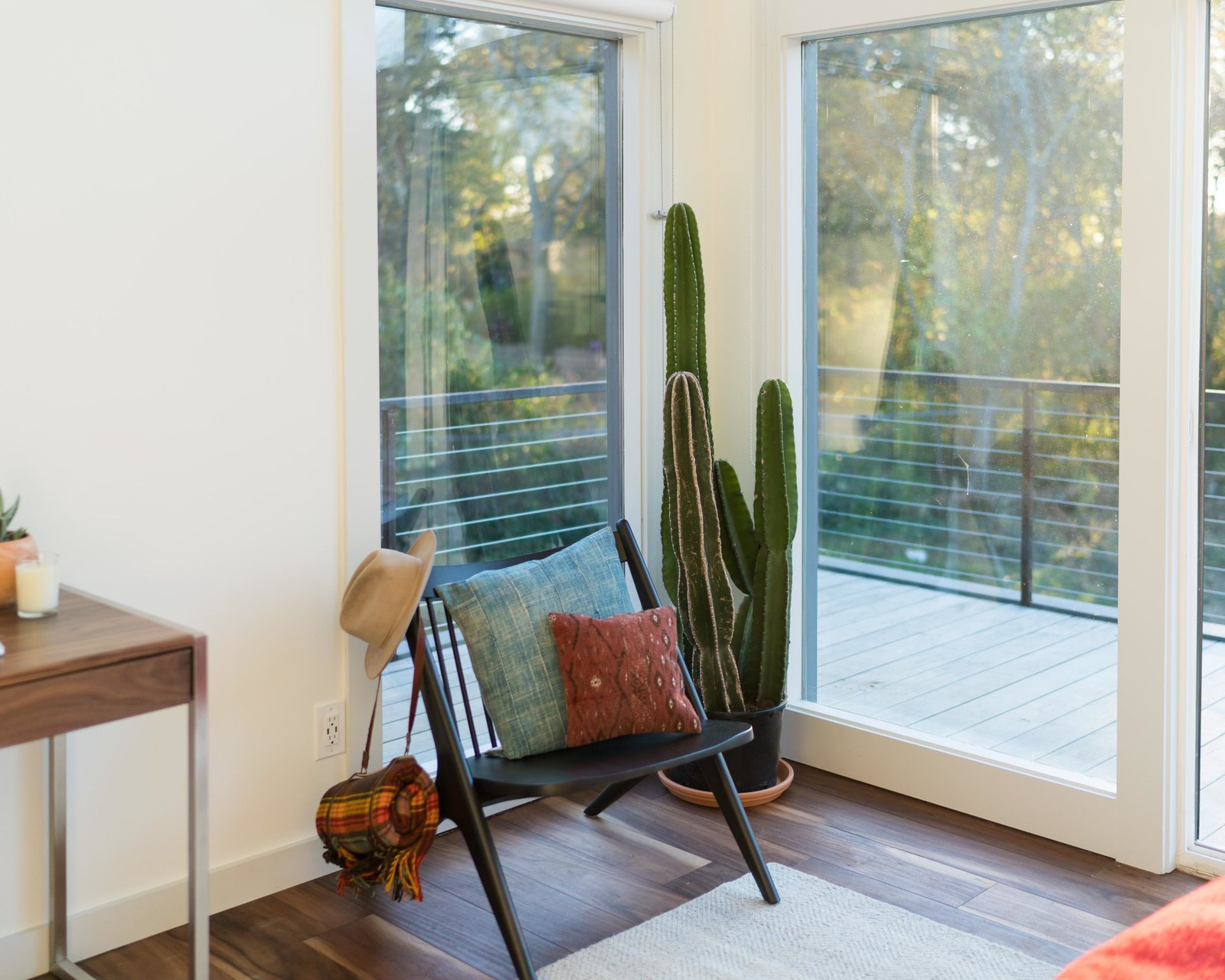 Oskar lounge chair  Photo 11 of 11 in Home Tour: Theron Humphrey of This Wild Idea