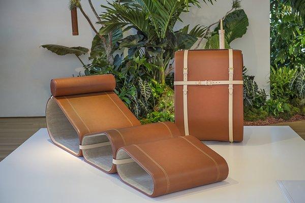 #MarcelWanders #Seating #LouisVuitton #LoungeChair  Photo courtesy of Marcel Wanders