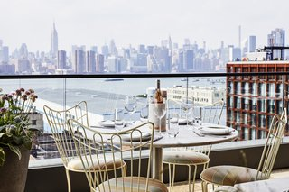 Expansive views of the Manhattan skyline are available from many of the rooms and from Summerly, the rooftop bar and restaurant.
