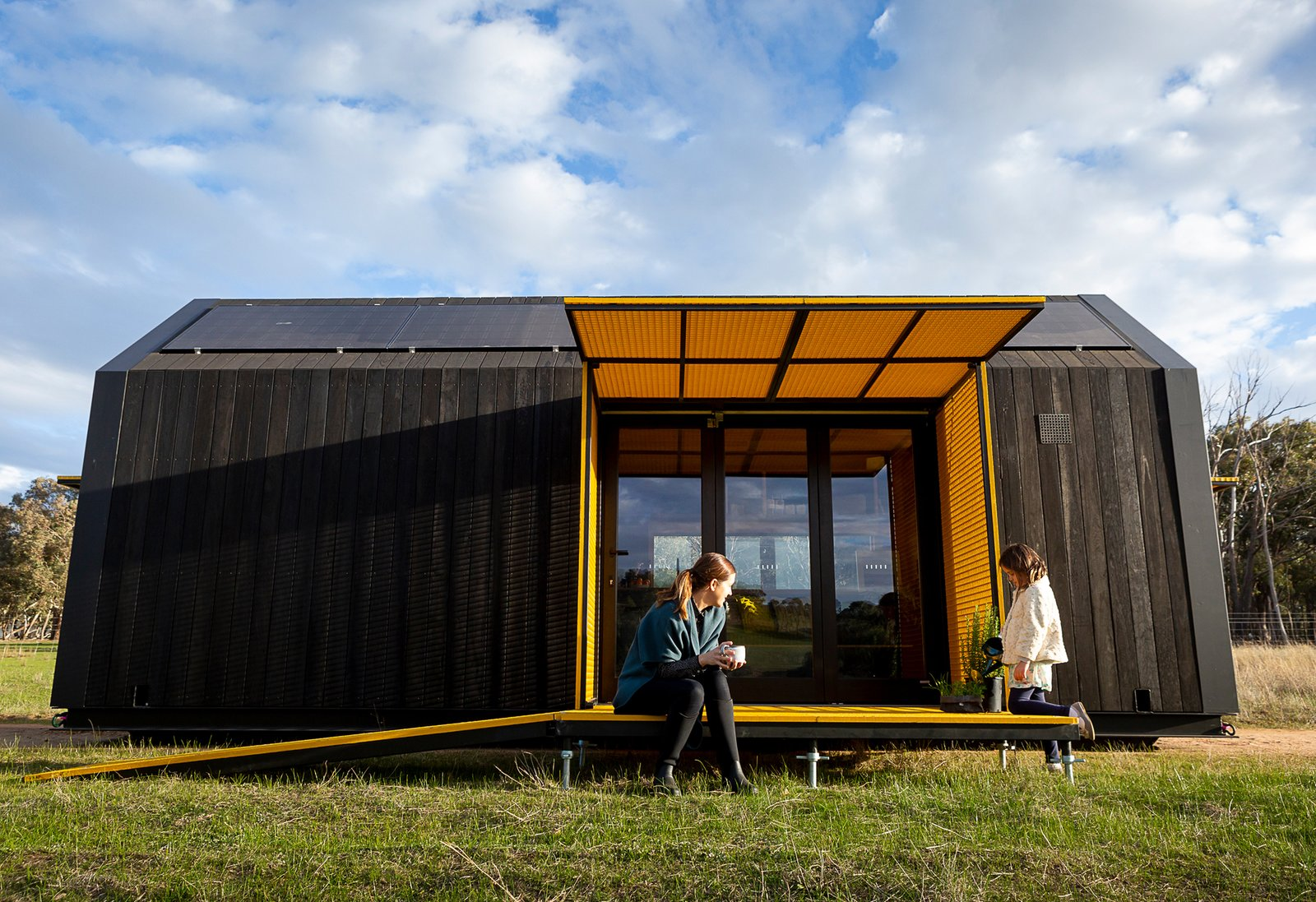 RACV tiny home Maddison Architects exterior