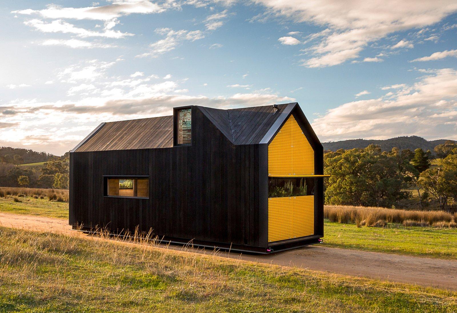 RACV tiny home Maddison Architects exterior